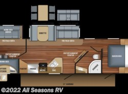 New 2018  Jayco White Hawk 31BH by Jayco from All Seasons RV in Muskegon, MI