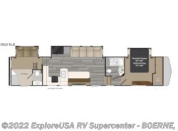 New 2018  Heartland RV Gateway 3810 RLB by Heartland RV from ExploreUSA RV Supercenter - BOERNE, TX in Boerne, TX