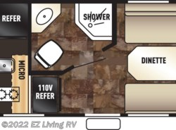 New 2016  Forest River Cherokee Wolf Pup 13CJ by Forest River from EZ Living RV in Braidwood, IL