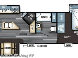 New 2017  Forest River Salem Villa Estate 393RLT by Forest River from EZ Living RV in Braidwood, IL