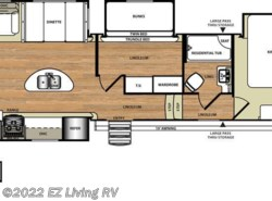 New 2017  Forest River Salem Hemisphere 368RLBHK by Forest River from EZ Living RV in Braidwood, IL