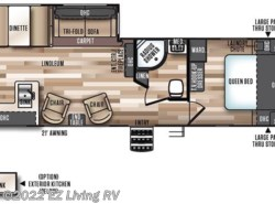 New 2017  Forest River Salem Hemisphere 282RK by Forest River from EZ Living RV in Braidwood, IL