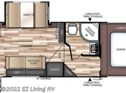 New 2017  Forest River Salem Hemisphere Lite 25RKHL by Forest River from EZ Living RV in Braidwood, IL