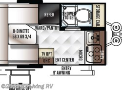 New 2018  Forest River Flagstaff E-Pro 14FK by Forest River from EZ Living RV in Braidwood, IL