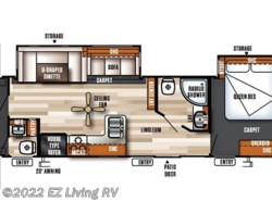 New 2018  Forest River Salem Villa 402QBQ by Forest River from EZ Living RV in Braidwood, IL