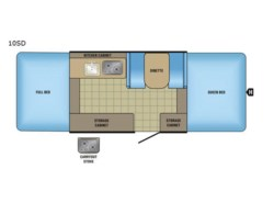 New 2017  Jayco Jay Series Sport 10SD by Jayco from Fretz  RV in Souderton, PA