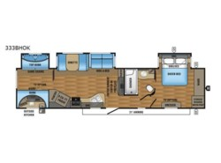 New 2017  Jayco Eagle 333BHOK by Jayco from Fretz  RV in Souderton, PA
