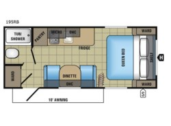 New 2018  Jayco Jay Flight SLX 195RB by Jayco from Fretz  RV in Souderton, PA