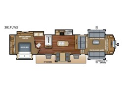 New 2018  Jayco North Point 381FLWS by Jayco from Fretz  RV in Souderton, PA