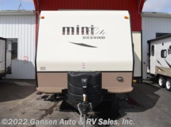 New 2017  Forest River Rockwood Mini Lite 2104S by Forest River from Gansen Auto & RV Sales, Inc. in Riceville, IA