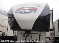 New 2018  Forest River Sandpiper 3275DBOK by Forest River from Gansen Auto & RV Sales, Inc. in Riceville, IA