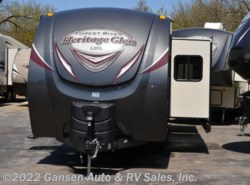 New 2018  Forest River Wildwood Heritage Glen 312QBUD by Forest River from Gansen Auto & RV Sales, Inc. in Riceville, IA