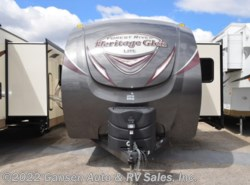 New 2018  Forest River Wildwood Heritage Glen 326RL by Forest River from Gansen Auto & RV Sales, Inc. in Riceville, IA