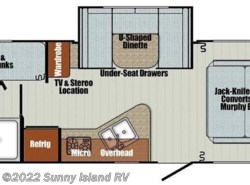 New 2018  Gulf Stream Vintage Cruiser  23BHS by Gulf Stream from Sunny Island RV in Rockford, IL