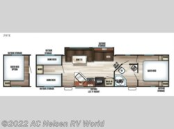 New 2017  Forest River Cherokee Grey Wolf 29TE by Forest River from AC Nelsen RV World in Omaha, NE