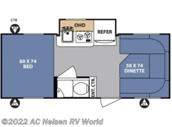New 2017  Forest River  R Pod RP-178 by Forest River from AC Nelsen RV World in Omaha, NE