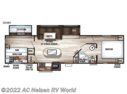 New 2018  Forest River  Patriot Edition 304BH by Forest River from AC Nelsen RV World in Omaha, NE
