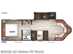 New 2018  Forest River Cherokee 234VFK by Forest River from AC Nelsen RV World in Omaha, NE