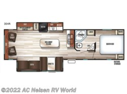 New 2018  Forest River Cherokee 304R by Forest River from AC Nelsen RV World in Omaha, NE