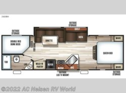 New 2018  Forest River Cherokee Cascade 26DBHCE by Forest River from AC Nelsen RV World in Omaha, NE