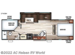 New 2018  Forest River Cherokee 274DBH by Forest River from AC Nelsen RV World in Omaha, NE