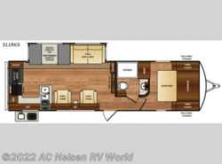 New 2018  Forest River Wildcat 311RKS by Forest River from AC Nelsen RV World in Omaha, NE