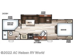 New 2018  Forest River  Patriot Edition 26DBHCE by Forest River from AC Nelsen RV World in Omaha, NE