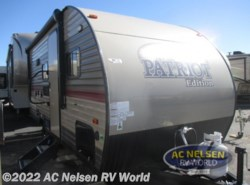 New 2018  Forest River  Patriot Edition 16BHS by Forest River from AC Nelsen RV World in Omaha, NE