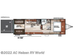 New 2018  Forest River Cherokee Wolf Pack 24PACK14plus by Forest River from AC Nelsen RV World in Omaha, NE
