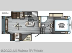 New 2018  Forest River Cherokee Arctic Wolf 285DRL4 by Forest River from AC Nelsen RV World in Omaha, NE