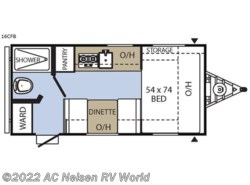 New 2018  Coachmen Clipper Cadet 16CFB by Coachmen from AC Nelsen RV World in Omaha, NE