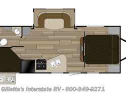New 2018  Cruiser RV Shadow Cruiser 240BHS by Cruiser RV from Gillette's Interstate RV, Inc. in East Lansing, MI