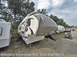 Used 2012  Keystone Cougar 328QBS by Keystone from Gillette's RV in East Lansing, MI