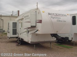 Used 2010  Forest River Rockwood Signature Ultra Lite 8265WS Rear Living Room by Forest River from Green Star Campers in Rapid City, SD