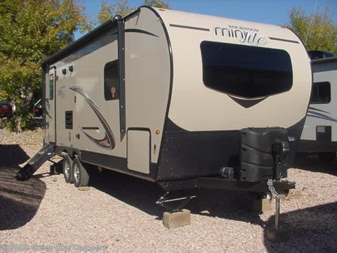 2019 Forest River Rockwood Mini Lite 2512SB Rear Kitchen