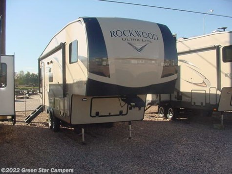 2019 Forest River Rockwood Ultra Lite 2441WS Rear Livingroom