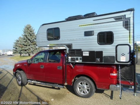 2019 Travel Lite Truck Campers Super  Lite  700 - Sofa - GREYHOUND  Ext.