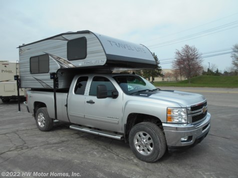 2019 Travel Lite Truck Campers 800X Series - Marine Toilet - Sofa Sleeper