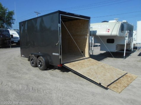2019 Impact Trailers Tremor 714  Ramp   7 Ft. Interior
