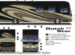 New 2018  Newmar Dutch Star 4018, Csutom Paint, Essex Interior Features, Loade by Newmar from Independence RV Sales in Winter Garden, FL