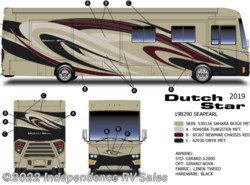 New 2019  Newmar Dutch Star 4369, Carmel Cherry, Euro Din, Freightliner by Newmar from Independence RV Sales in Winter Garden, FL