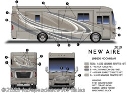 New 2019 Newmar New Aire 3343, Sale Pending available in Winter Garden, Florida