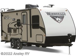 New 2018  Winnebago Micro Minnie 1706FB by Winnebago from Ansley RV in Duncansville, PA