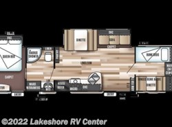 New 2018  Forest River Wildwood 36BHBS by Forest River from Lakeshore RV Center in Muskegon, MI