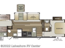 New 2019  Keystone Cougar Half Ton 32BHS by Keystone from Lakeshore RV Center in Muskegon, MI