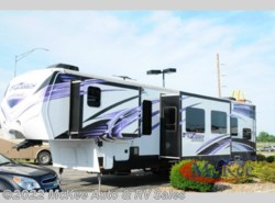 Used 2014  Keystone Fuzion 390 Chrome by Keystone from McKee Auto & RV Sales in Perry, IA