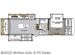 New 2018 Forest River Cardinal Luxury 3350RLX available in Perry, Iowa