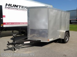 Used 2017  Covered Wagon  Silver 5'x8' Single Axle by Covered Wagon from Mid-State RV Center in Byron, GA