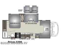 New 2018  Coachmen Prism 2200 by Coachmen from Mid-State RV Center in Byron, GA