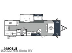 New 2018  Forest River Surveyor Family Coach 295QBLE by Forest River from Mid-State RV Center in Byron, GA